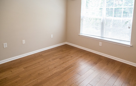 42974269 - new hardwood floor in new home