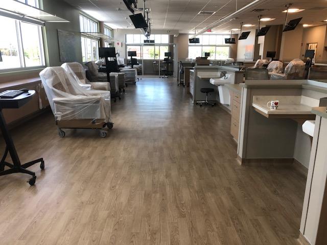 Cape Coral Davita Dialysis Center Flooring Installation